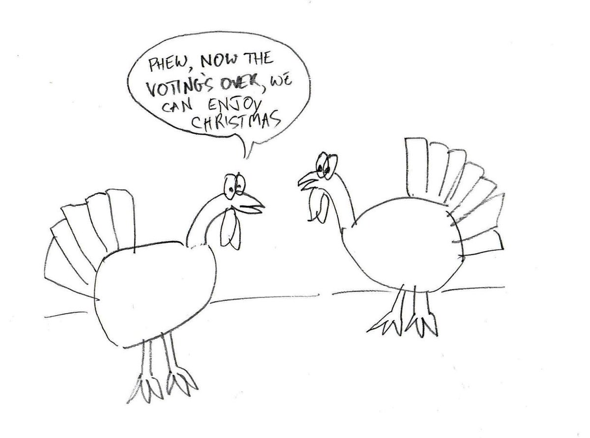 Time for this again. The last time. Turkeys. #BrexitEve https://t.co/N...