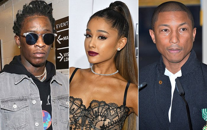 Calvin Harris taps Ariana Grande, Pharrell, & Young Thug for his n...