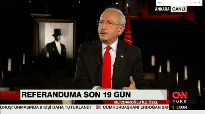 Canlı yayında CHP lideri Kılıçdaroğlu'ndan kelime kelime fesih yetkisi...