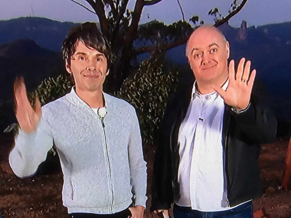 Ant and Dec have let themselves go a bit #StargazingLive https://t.co/...