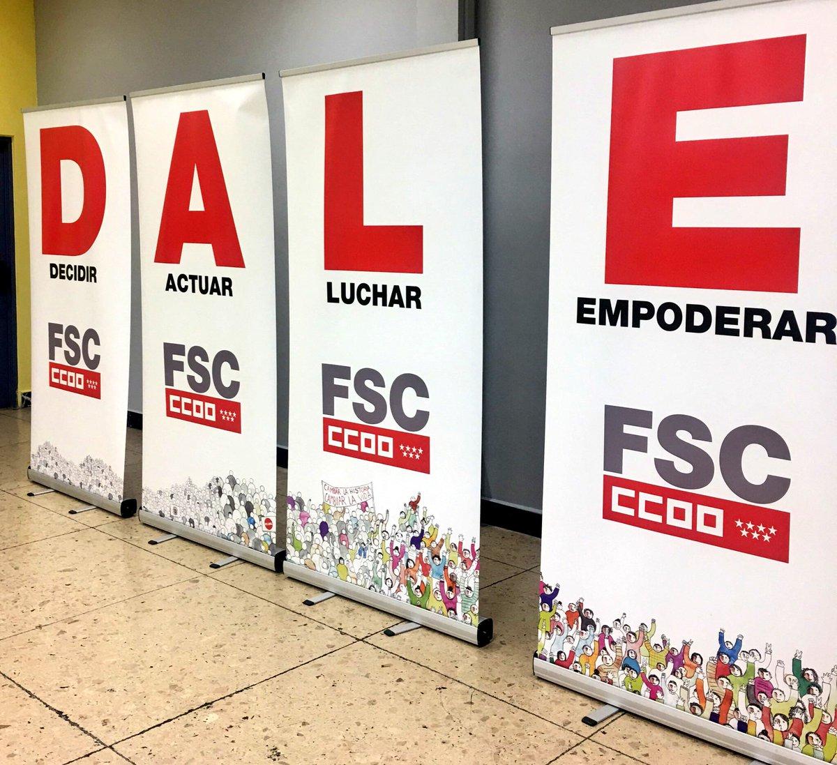 #Decidir  #Actuar  #Luchar  #Empoderar  3er Congreso @CCOO_FSCMadrid #CCOO<br>http://pic.twitter.com/i3CMEMqXTX