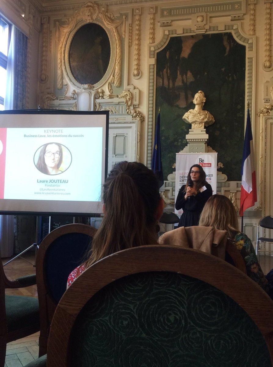 Dans le top 3 des meilleures interventions de ce @Beaboss2017 !! Merci Laure @LesAventurieres #inspiration #entrepreneuriat<br>http://pic.twitter.com/rnmuhV1lmI