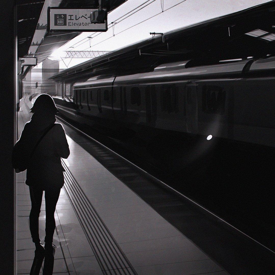 Днем города, картинки анимации вокзалы