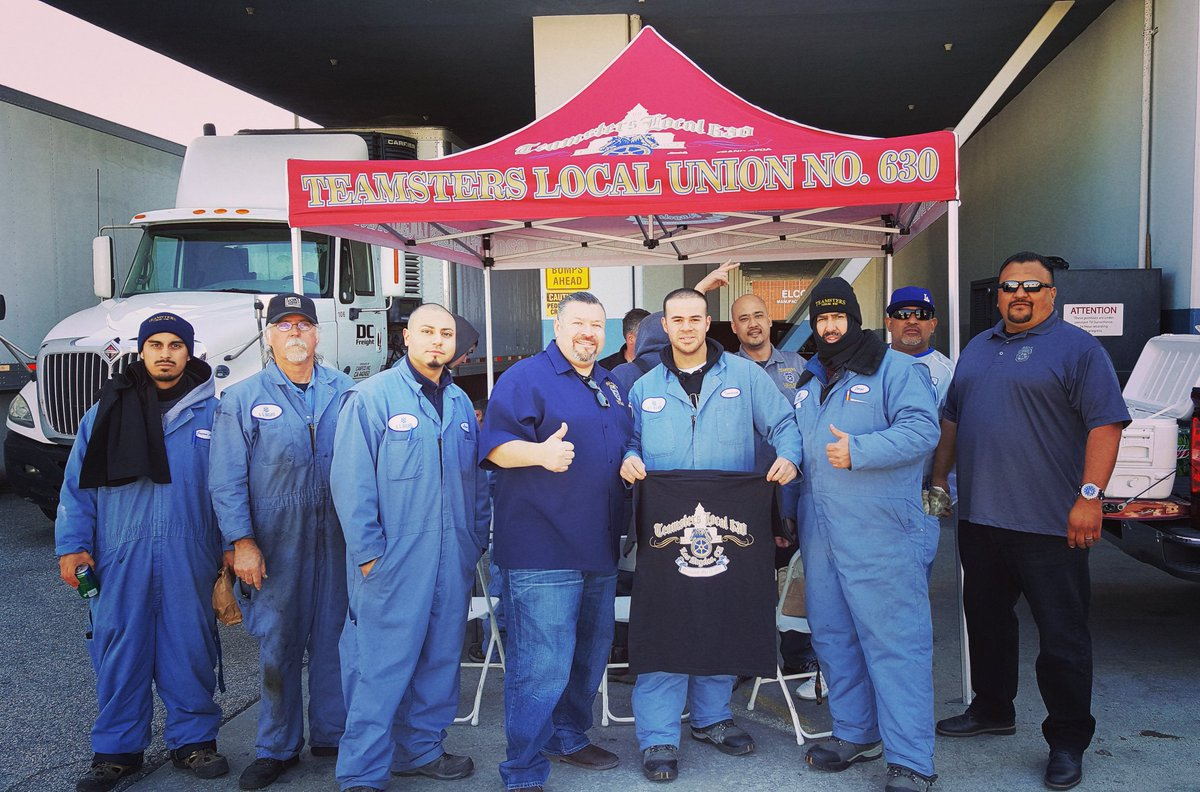 James Baruch On Twitter Another Great Visit With The Brothers From Us Growers Cold Storage Good Job Teamsters Local 630 Solidarity
