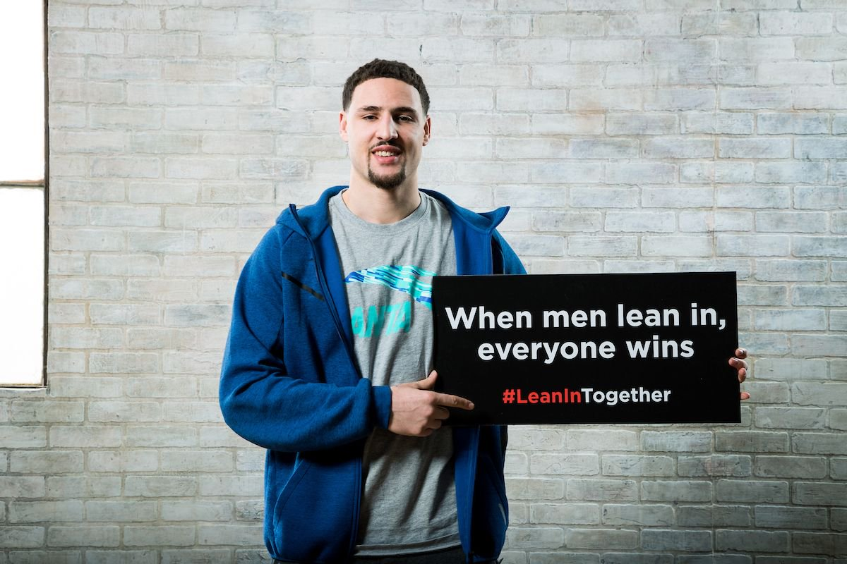 The Warriors are proud to support gender equality. Join us & #Lean...