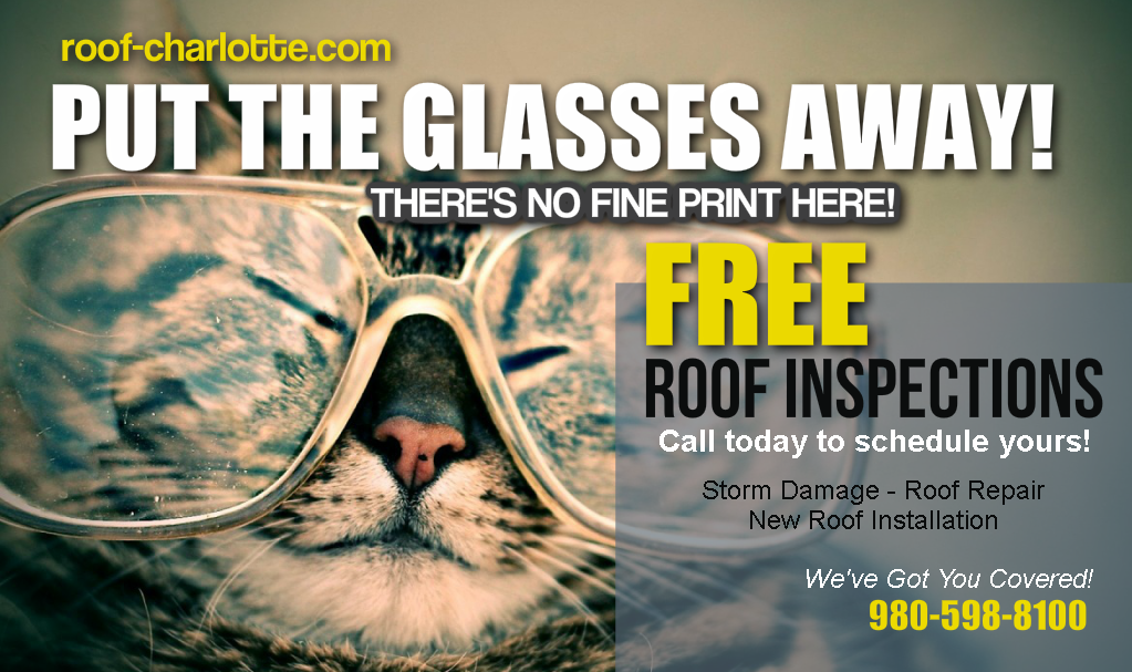 Need a FREE #Roof Repair Estimate? Call the #Local Experts 980-598-8100  http:// roof-charlotte.com  &nbsp;   #RT #home #fixit <br>http://pic.twitter.com/tmV8lLdVbJ