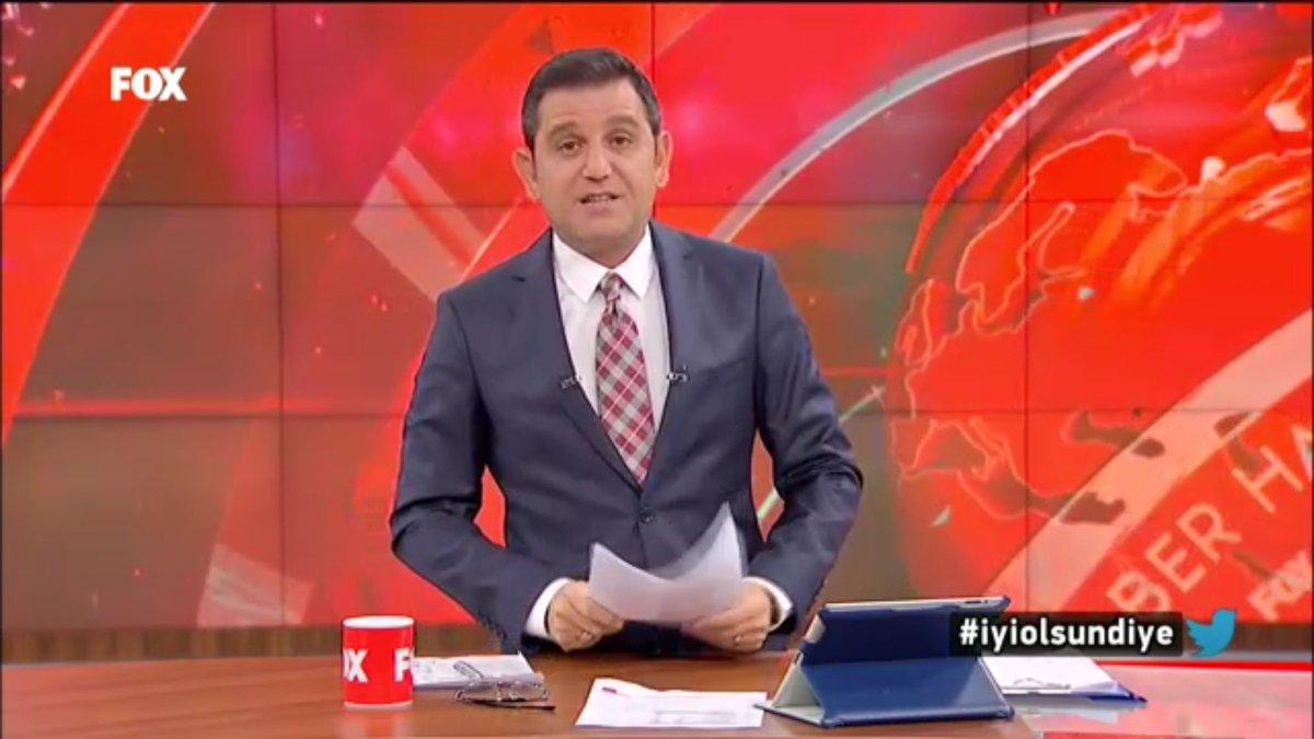 Günün @fatihportakal ile @FOXhaber tabelası #iyiolsundiye https://t.co...
