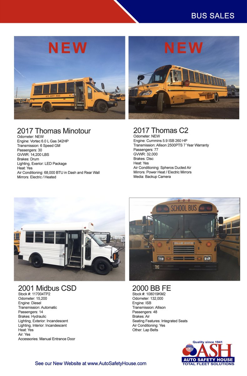 Thomas Bus Manual Bird Wiring Diagrams On 2000 Fl70 Freightliner Fuse Box Diagram Electrical Array Auto Safety House Twitter Check Out Some Of Our Used Buses For Rh