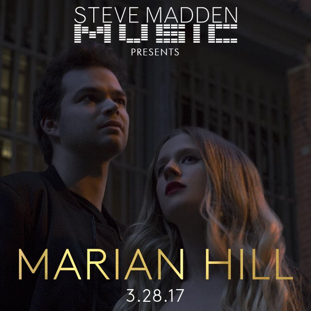 a handful of FREE tix were released for tonight's @SteveMadden show with @MarianHillMusic https://t.co/GrcJTKqFQJ https://t.co/oka5kGsPMV