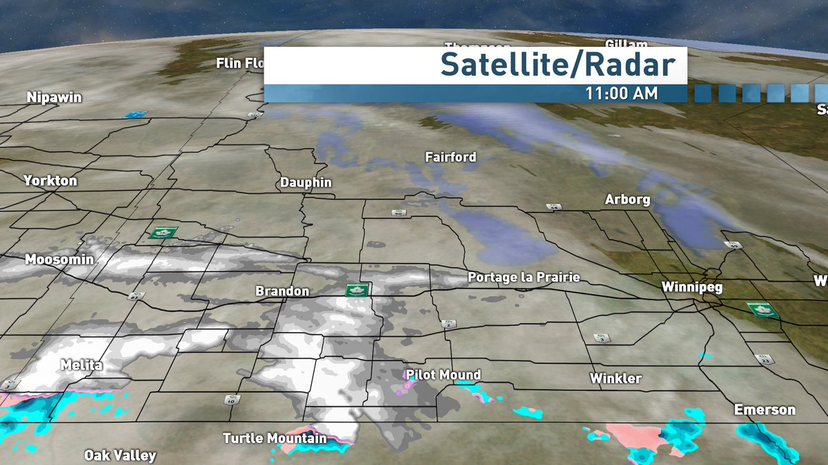 This is moving east and weakening #cbcmb #snow #Brandon <br>http://pic.twitter.com/OmfLOURfhF