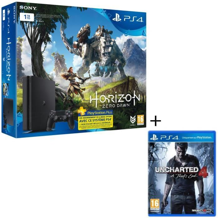 Nouvelle PS4 1 To + #HorizonZeroDawn + #Uncharted4 OFFERT !   http:// bit.ly/2nsgXpD  &nbsp;    #bonplan <br>http://pic.twitter.com/NQbYaqMQso