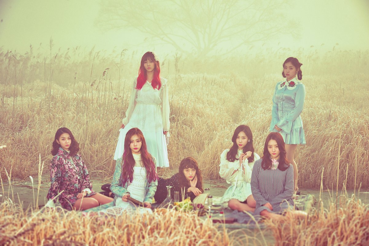 "#DreamCatcher Releases Both Breathtaking And Eerie Images For ""Fall As..."
