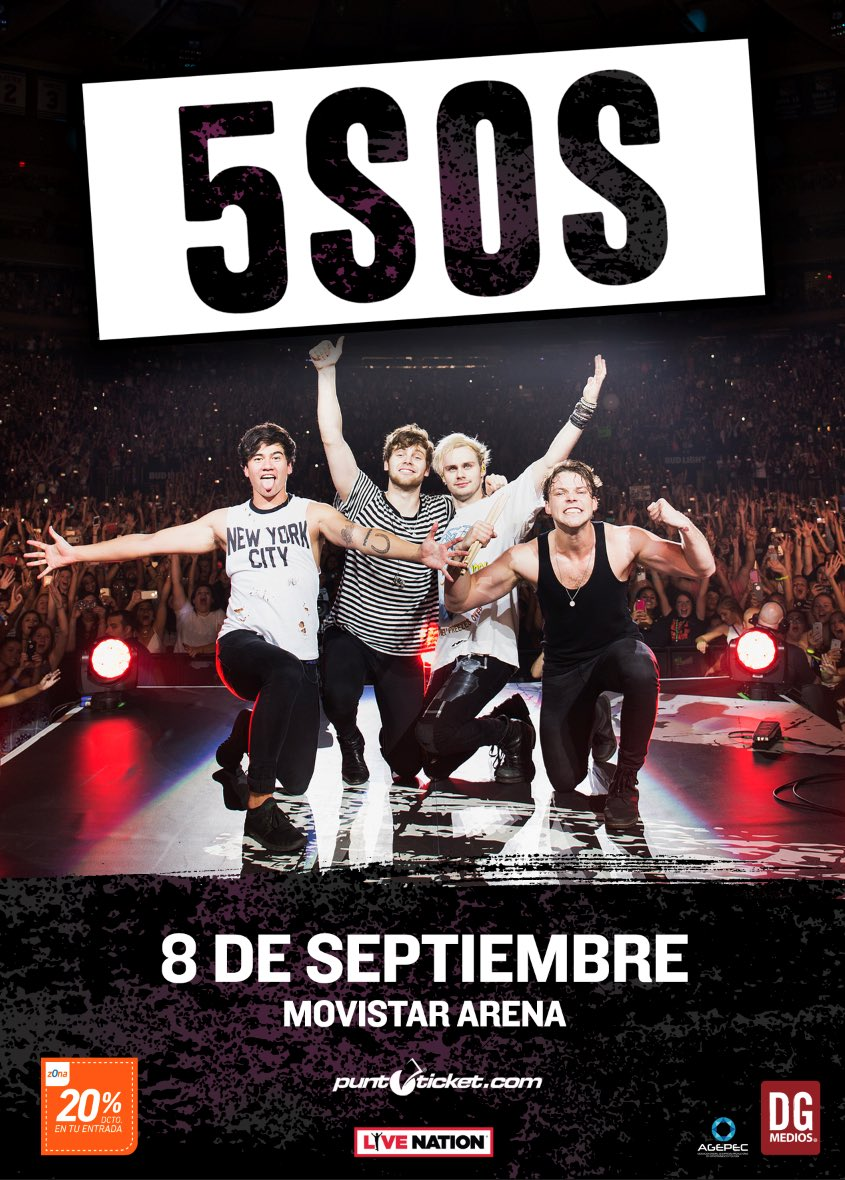 see you in september Chile 🤘🏼