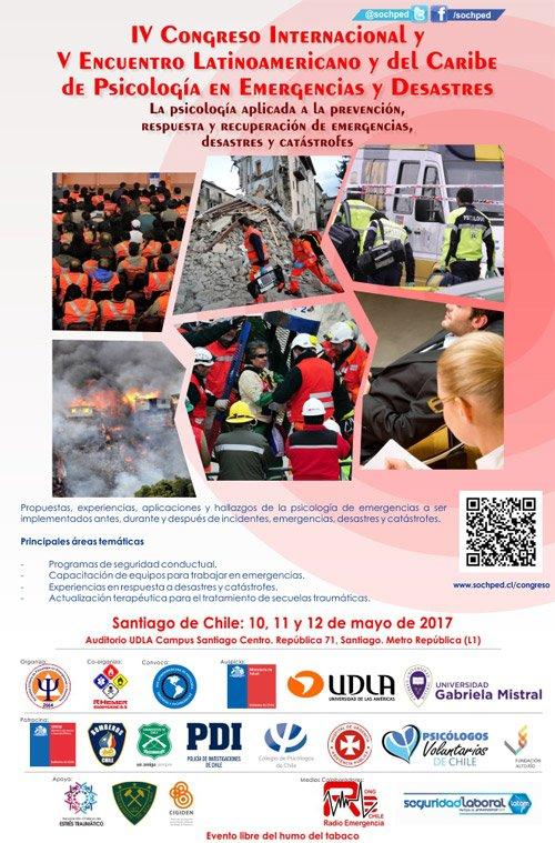 Resultado de imagem para IV Congresso Latinoamericano de Psicologia nas emergências e desastres