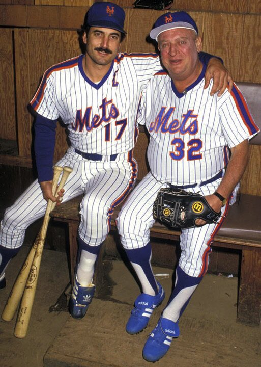 Here's Keith Hernandez and Rodney Dangerfield. What else do you want f...