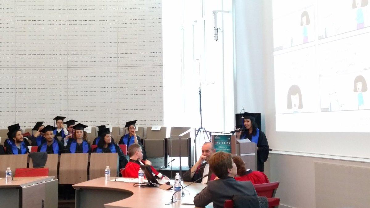 Félicitations Dr. Wafa Ben Khaled @Wafa_BK qui nous présente sa thèse en 180 secondes @Paris_Dauphine #gestion #éthique <br>http://pic.twitter.com/XrnN6s9bv8