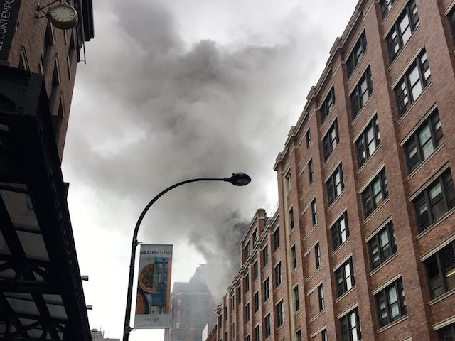 BREAKING: Fire At Chelsea Market Prompts Evacuation https://t.co/Wun9Q...