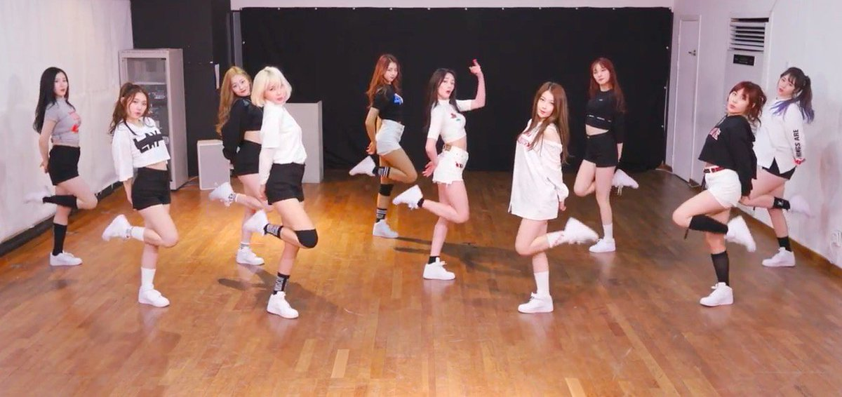"WATCH: #PRISTIN Gifts Fans With Dance Practice Version Of ""WEE WOO"" ht..."