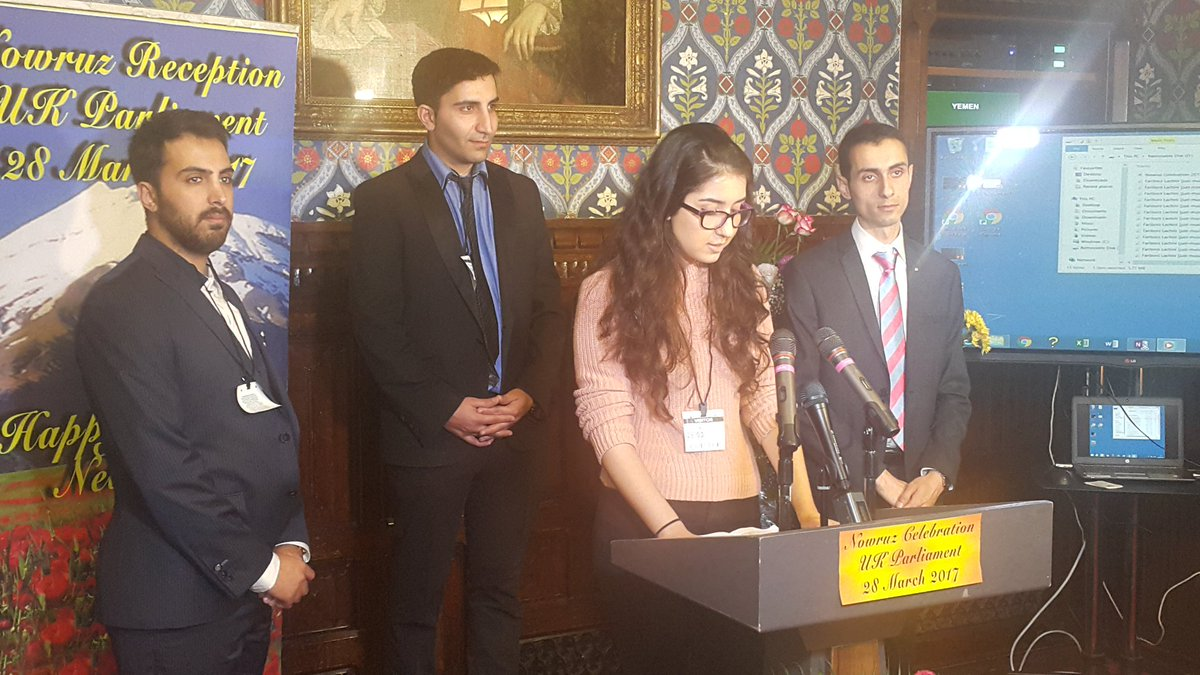 Anglo-Iranian youth representatives in #Nowruz celebration #FreeIran <br>http://pic.twitter.com/sbHmtOnVcK