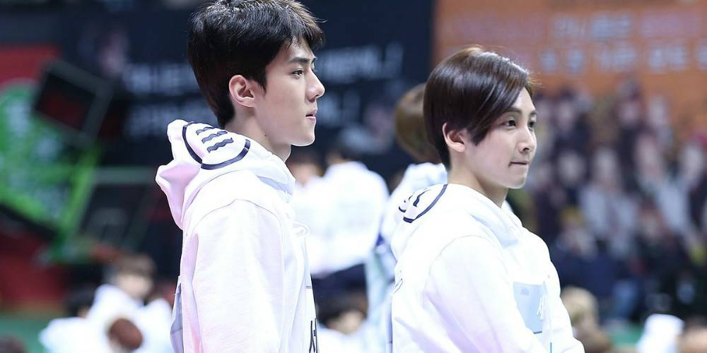 EXO's Sehun talks about the funny time he mistook Seventeen's Junghan...