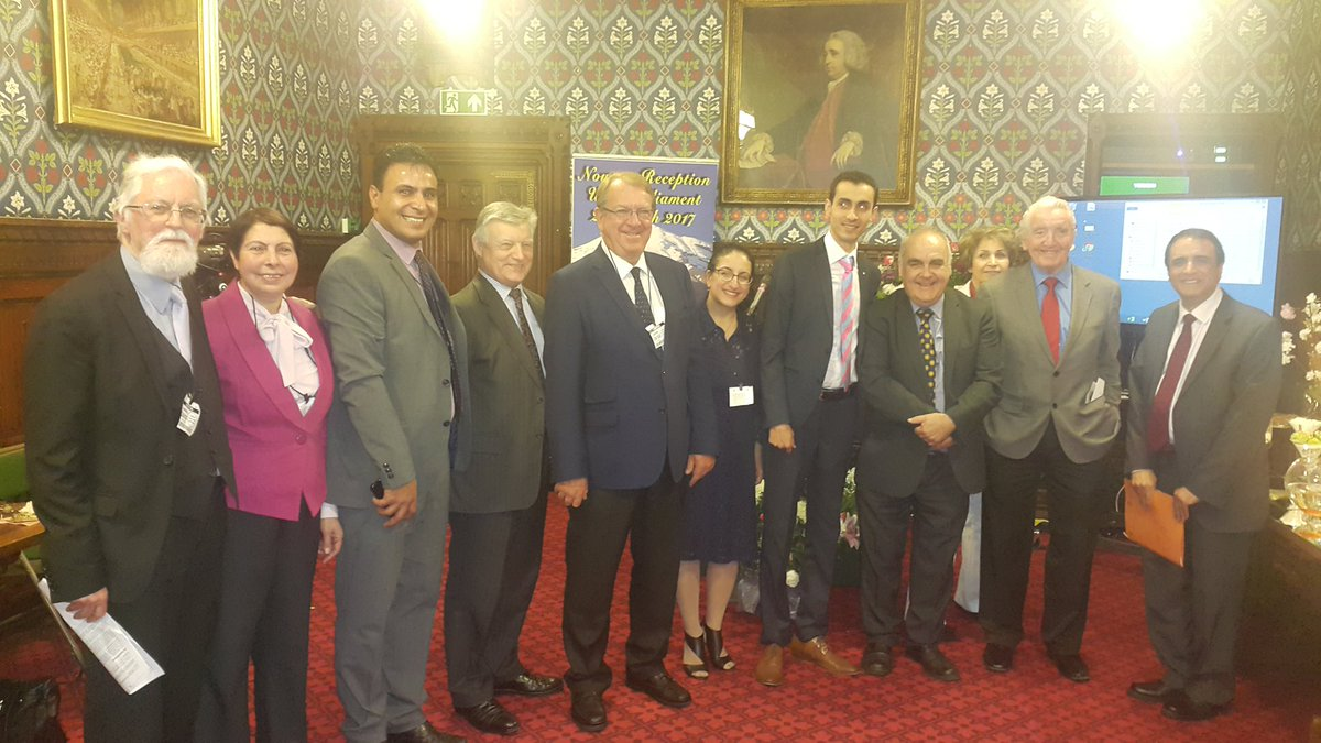 MP&#39;S and Lords, friends of the Iranian resistance celebrate #Nowruz in parliament #FreeIran <br>http://pic.twitter.com/n7SdXG8Y6z