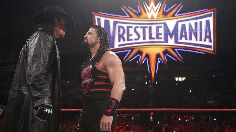 Why Roman Reigns VS The Undertaker At Wrestlemania 33 Is Underwhelming...