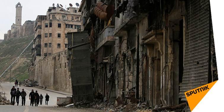 L'armée syrienne découvre des cachettes des terroristes à #Alep  http:// sptnkne.ws/dVAW  &nbsp;   #Daech <br>http://pic.twitter.com/2iNVtOqfy7