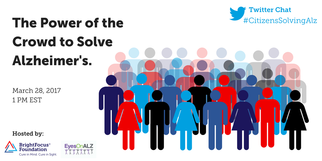 Excited to join the #CitizensSolvingAlz chat at 1:00 PM ET on behalf of the @LEAD_Coalition - join me and @_BrightFocus! https://t.co/8bCBBUKrEV