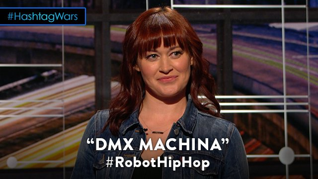 Bots gon' give it to ya. @midnight @mametown #RobotHipHop https://t.co...