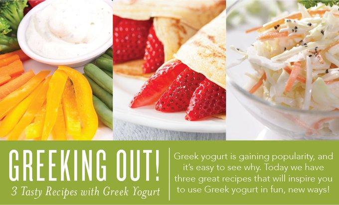 Greeking Out! 3 Tasty Recipes with Greek Yogurt