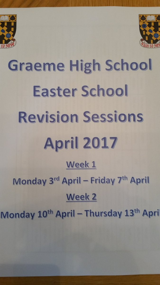 ghs maths graemehighmaths twitter easter school information get along get help get better grades simplespic twitter com rr2qdnfqdf