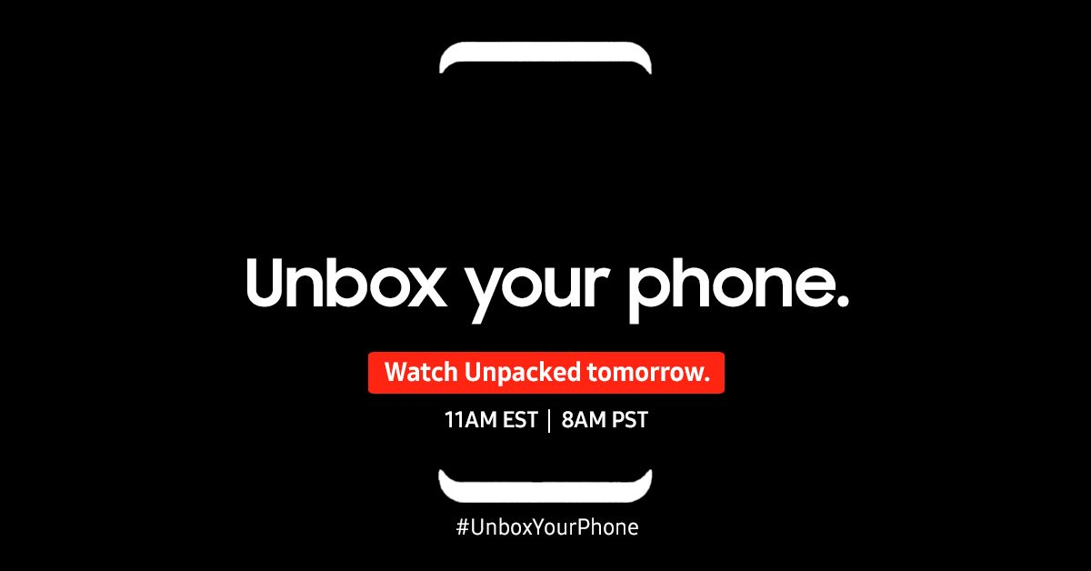 Don't miss it! Tune in tomorrow at 11am EST/8am PST and watch as we #U...