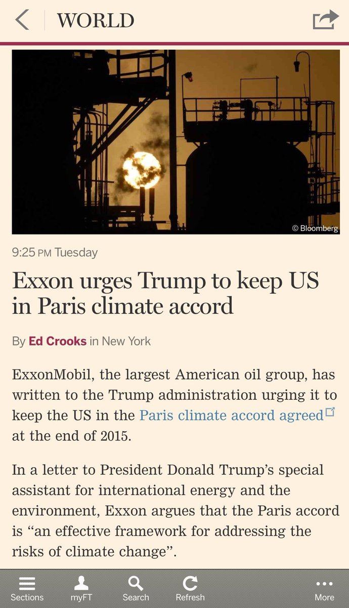 Forked tongue: A case study via the folks at Exxon  #climate #ExxonKnew <br>http://pic.twitter.com/ccgC0up42R