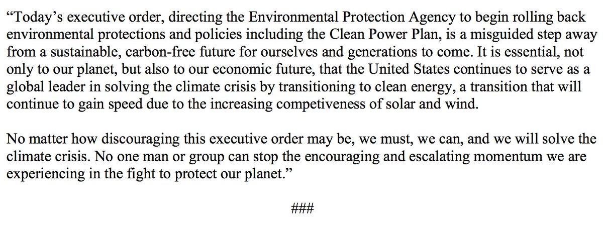 My statement on today's executive order: https://t.co/ffO77Kf4jA https://t.co/xmbG2M2UNp