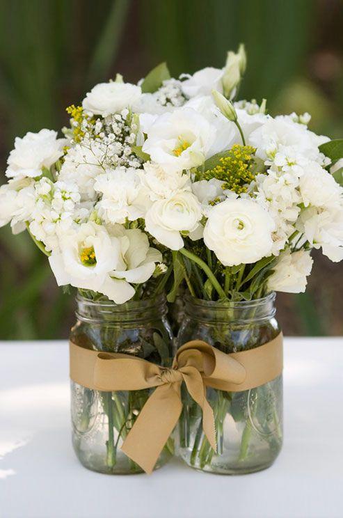 [#INSPIRATION]  Des fleurs + deux bocaux + un ruban = une déco de table originale pour votre prochain événement  ________ #Team229 #Griio<br>http://pic.twitter.com/Cczf1KcuTy