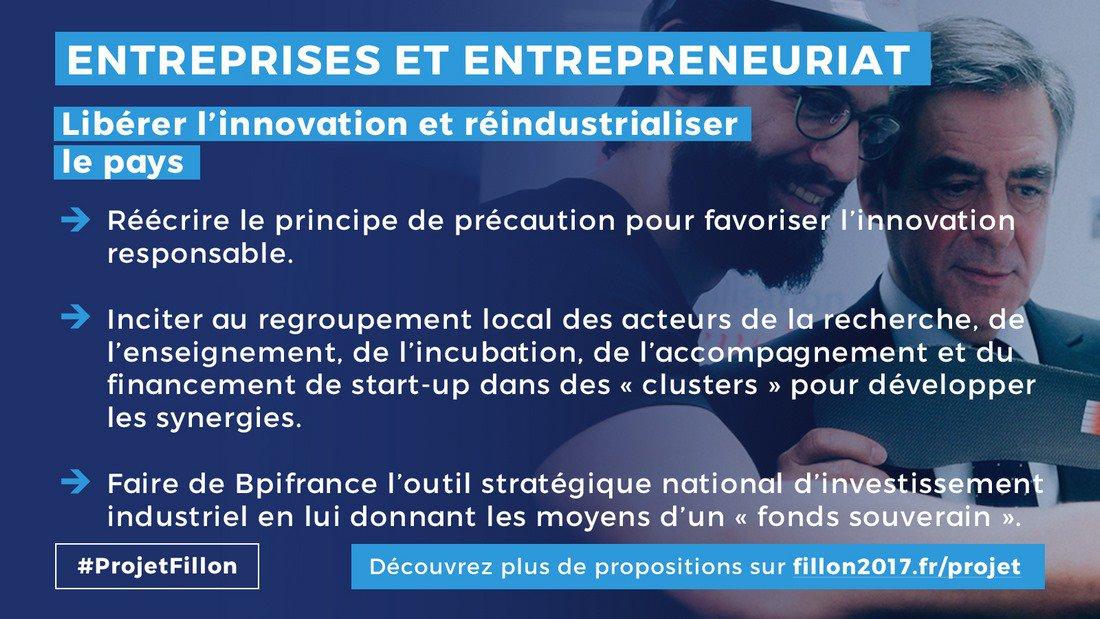 Tout faire pr que nos jeunes et moins jeunes talents restent en #France pr qu&#39;elle soit la 1ere puissance européenne ds 10 ans #ProjetFillon<br>http://pic.twitter.com/24rulzGnEV