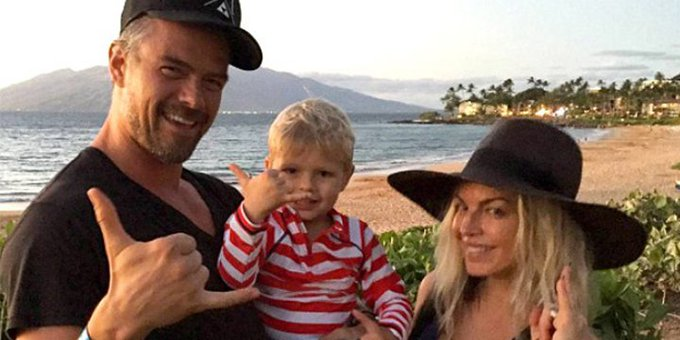 Watch Josh Duhamel and son Axl sing Fergie happy birthday in an adorable video