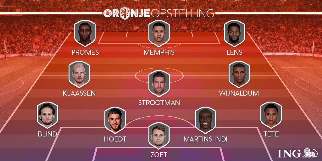 .@Memphis est titulaire en pointe des Pays-Bas contre l&#39;Italie. #TeamOL #OL @OL<br>http://pic.twitter.com/D0lWs3CAmy