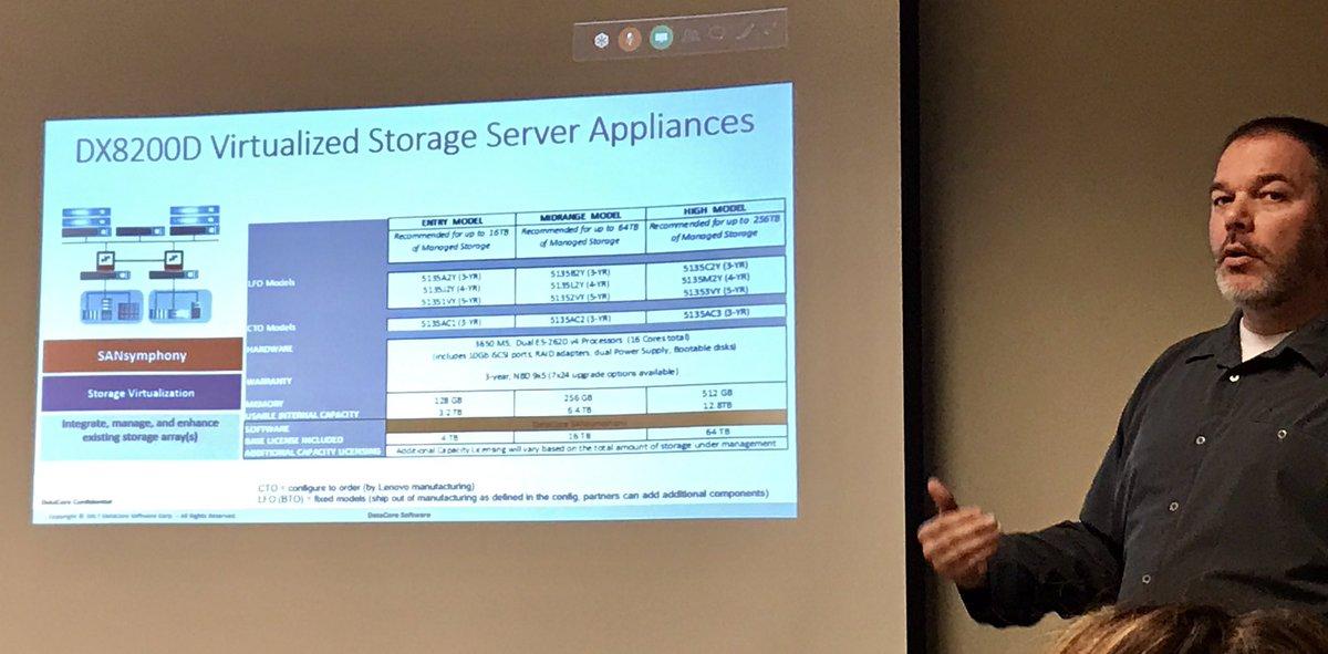 Excellent @DataCore &amp; @LenovoGov @lh3455 #CDWG #Tech #Gov #storage #Data #DataCore #Lenovo<br>http://pic.twitter.com/hympMYEVIY