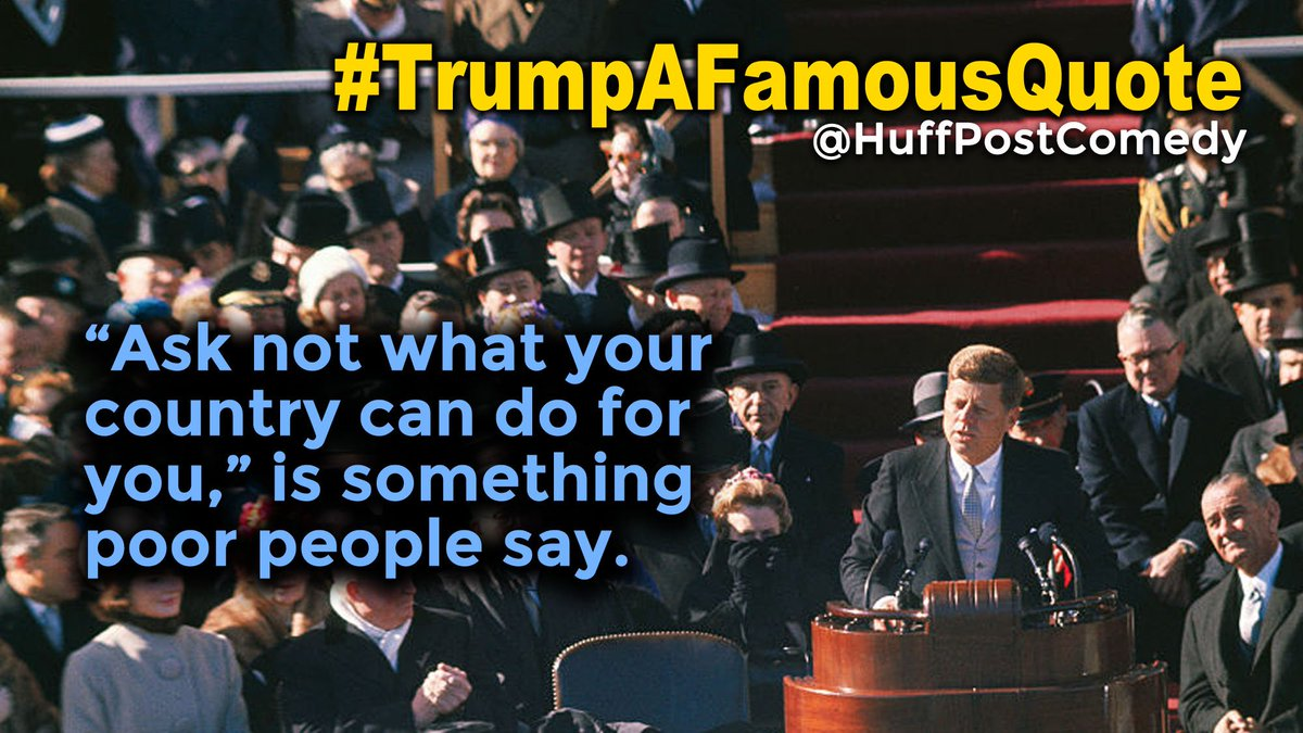 Because, as we've established, he knows the best words. #TrumpAFamousQ...