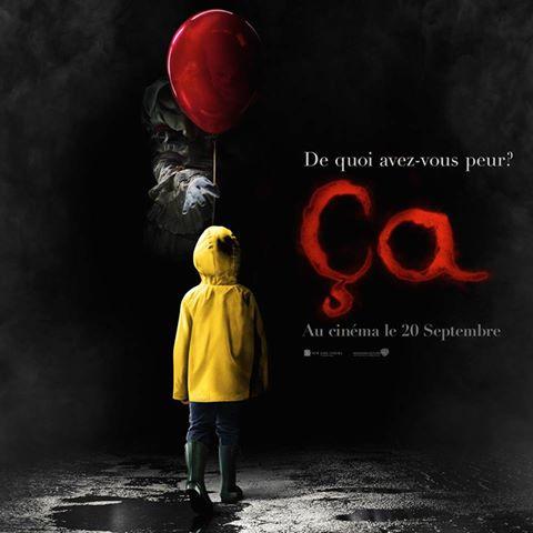 Première affiche du #film &quot;ça &quot; #Cinema #Horreur #IT #ça #Clown #movies #horror <br>http://pic.twitter.com/uCcDqgqt2F