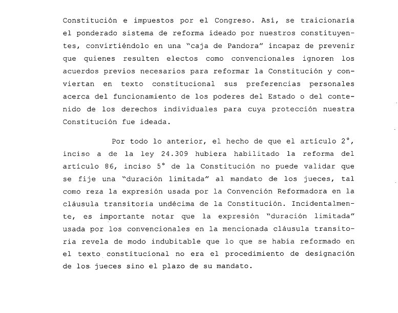 Ahí, este fragmento del voto de Rosenkrantz, cons 22, me parece irrefutable. https://t.co/OHGyABAruq