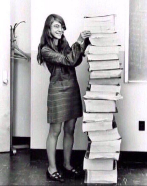 Her code got humans on the moon — and invented software itself. #Inclu...