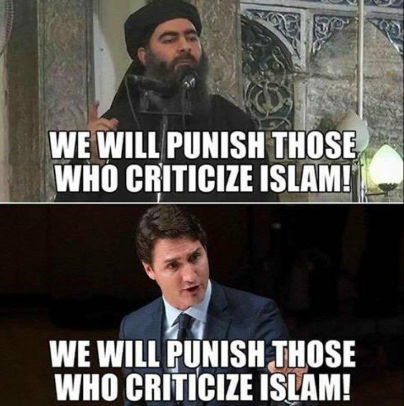 Allahou Akbar!Vive la liberté d&#39;expression,vive le multiculturalisme!Calinours #Trudeau imam #couillard Teresa #coderre #polcan #polqc<br>http://pic.twitter.com/y1IHwEuOqX