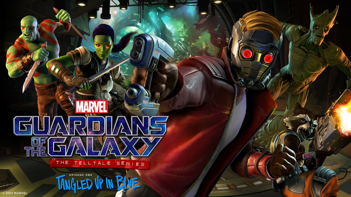 GUARDIANS OF THE GALAXY: THE TELLTALE SERIES Reveals Release Date For Episode 01