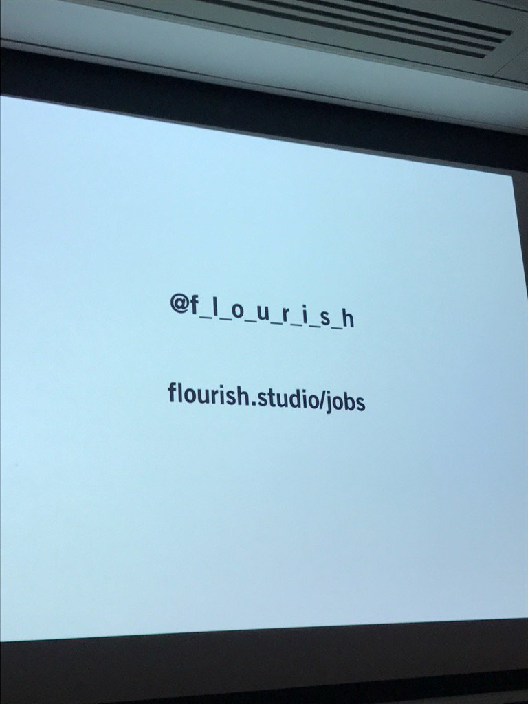 Jobs shout out at #hhldn: @f_l_o_u_r_i_s_h, which launched today! Flou...