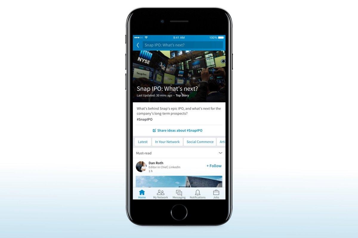#LinkedIn poursuit sa mutation en se lançant dans la revue de #presse personnalisée  http:// buff.ly/2n9iDlp  &nbsp;    #SocialMedia <br>http://pic.twitter.com/Ln1zrM8KsD
