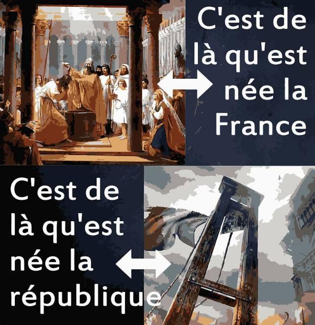La #France du baptême ....  La #République de la guillotine...<br>http://pic.twitter.com/Z1KdsC6cQd