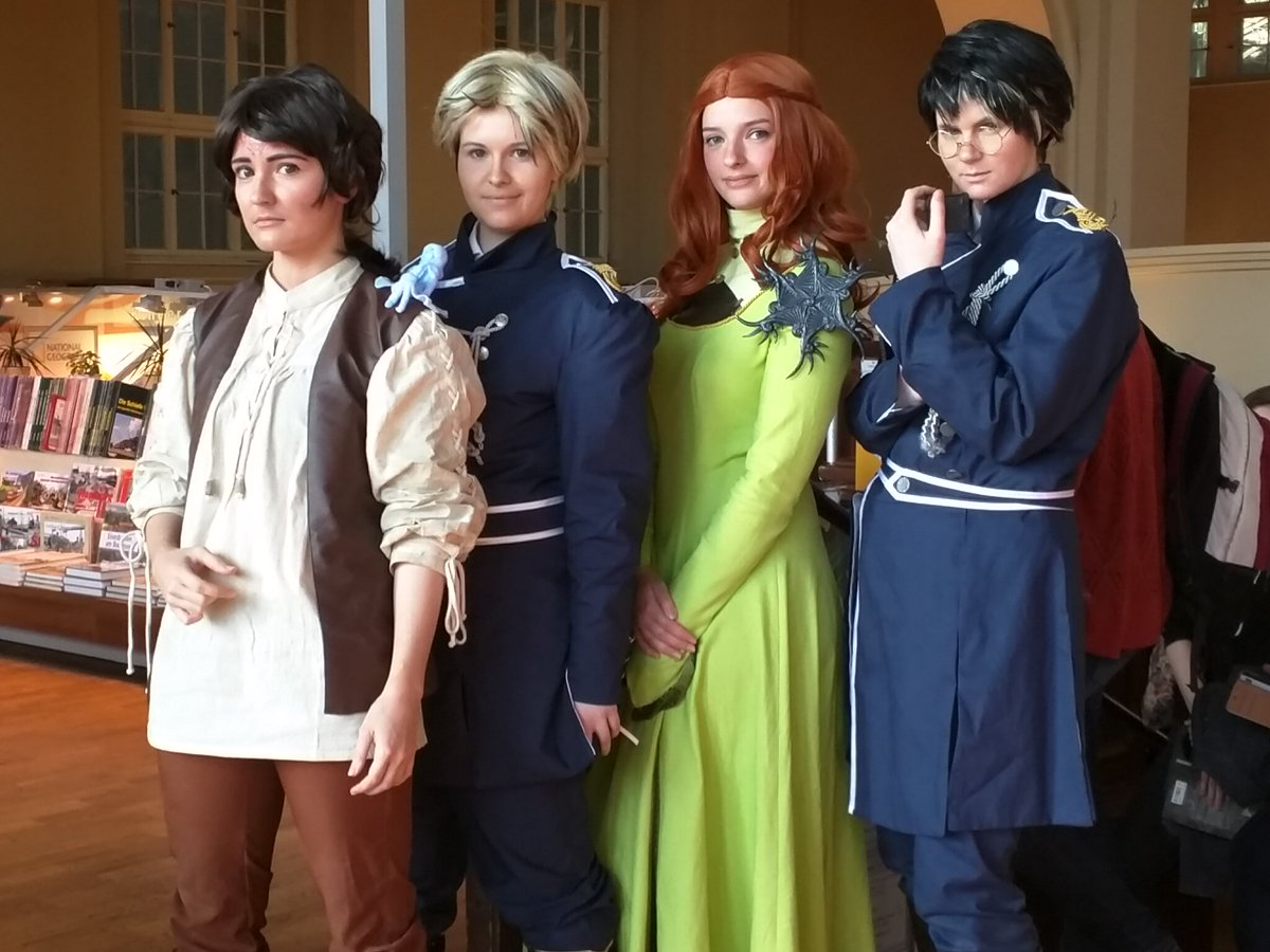 This is cosplay at it\'s finest.