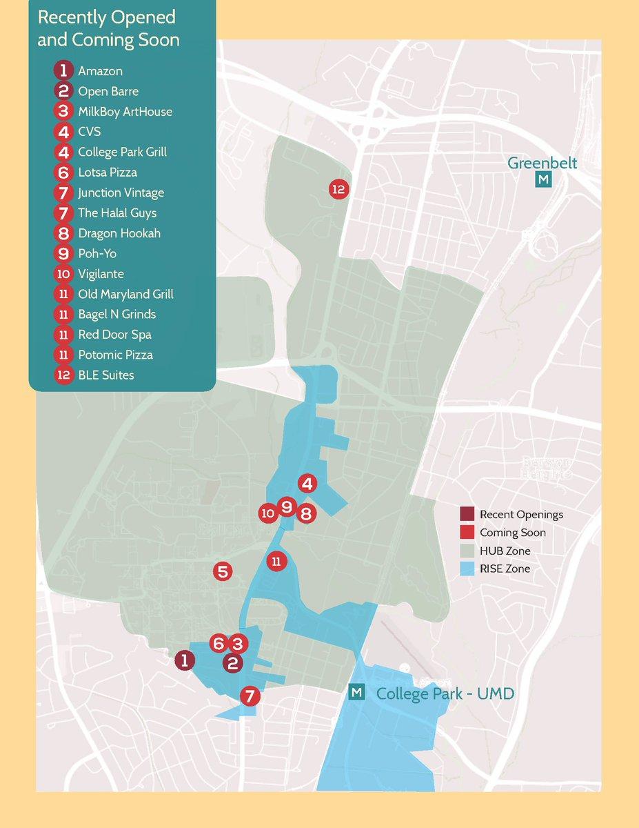 Shop College Park ShopCollegePark Twitter - Washington dc hubzone map